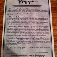 Photo taken at Mystic Pizza by Robin T. on 11/23/2012