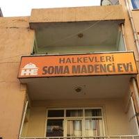 Photo taken at Soma Madenci Evi by Ozge K. on 1/25/2015