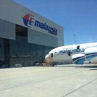 Photo taken at MAS Hangar 6 AMU Line 4 by Iss P. on 4/16/2013