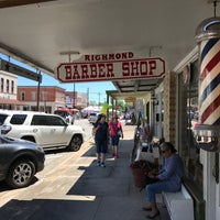 Photo taken at Richmond Barber Shop by W. Ross W. on 5/13/2017
