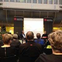 Photo taken at Randers Bibliotek by Iben on 12/14/2013