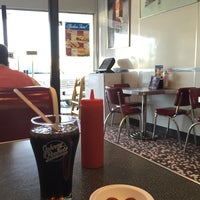 Photo taken at Johnny Rockets by AbinA on 1/24/2015