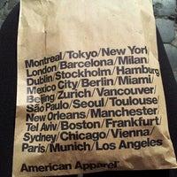 Foto scattata a American Apparel da Ro il 12/2/2013