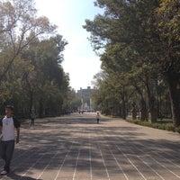 Photo taken at Puerta de los Leones by Azucena U. on 12/8/2012