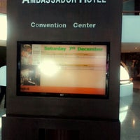 Photo taken at Garden Room 1 | Ambassador Hotel by แม่รัก ร. on 12/7/2013