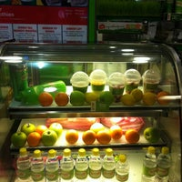 Photo taken at Boost Juice Bar by Angie L. on 10/5/2012