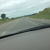 Photo taken at Driving On 35 by Adam H. on 9/2/2013