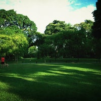 Photo taken at Fort Canning Park by Edward L. on 7/6/2013