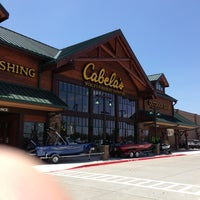 Photo taken at Cabela's by Eric B. on 7/9/2013