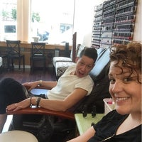 Photo taken at Sensi Luxury Nails & Spa by Courtney J. on 7/16/2016
