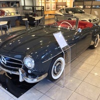 Photo taken at Mercedes Benz Classic Center by Jeffrey S. on 12/5/2013