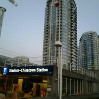 Photo taken at Stadium - Chinatown SkyTrain Station by Homero C. on 10/3/2012