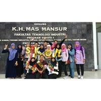 Photo taken at Fakultas Teknologi Industri UII by Azimatul K. on 7/1/2015