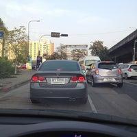 Photo taken at Prachanukun Intersection by Achi C. on 2/18/2013