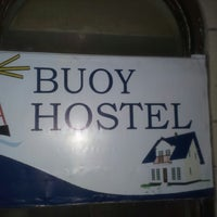 Photo taken at Buoy hostel by Chorche M. on 4/10/2013