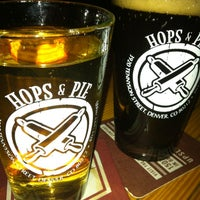 Photo taken at Hops & Pie by GayeLynn_M on 12/12/2012