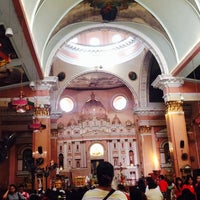 Foto tomada en Minor Basilica of St. Lorenzo Ruiz of Manila (Binondo Church)  por Kesha Marie F. el 1/31/2014