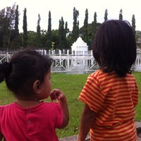 Photo taken at Putroe Phang Park by Tati  T. on 6/5/2014