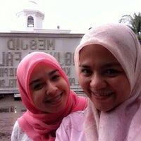 Photo taken at Masjid Agung Al-Falah by Tati  T. on 4/20/2014