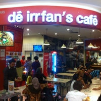 Photo taken at de irrfan's cafe by Alina C. on 11/5/2013