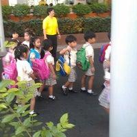 Photo taken at Saiaksorn School by ่patavee S. on 12/4/2012