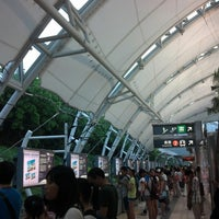 Photo taken at MTR Sunny Bay Station by 千里 夢. on 7/24/2013