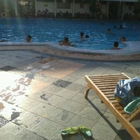 Photo taken at Manyar swimming pool by Marta W. on 10/4/2014