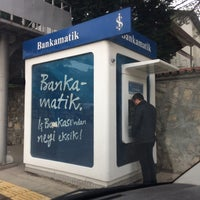 Photo taken at Bankamatik by Halil A. on 3/21/2016