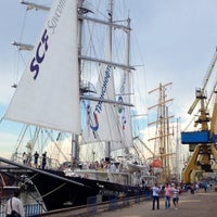 Photo taken at Black Sea Tall Ships 2014 by Catalin I. on 5/26/2014