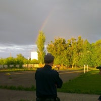 Photo taken at Стадион by Olya I. on 5/9/2015