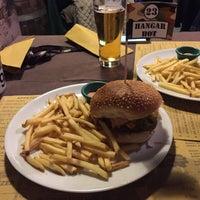 Photo taken at Hangar Burger by Marina J. on 10/18/2015