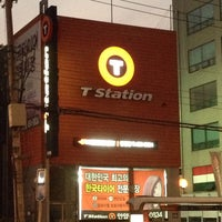 Photo taken at T-Station by ChaeJeongByung on 11/8/2014