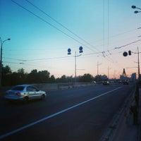 Photo taken at Зупинка «Торгівельно-розважальний комплекс» by Владимир С. on 6/5/2015