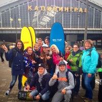 Photo taken at Остановка «Проспект Калинина — Южный вокзал» by Surf W. on 5/1/2015