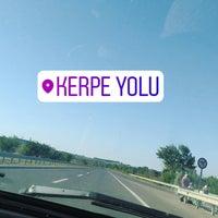 Photo taken at Kerpe Yolu by Edanur E. on 9/2/2017