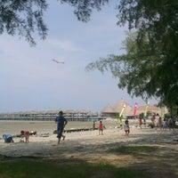 Photo taken at Bagan Lalang Beach by Hong Kok L. on 10/26/2012