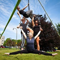 Photo taken at Aerial Arts of Rochester by Aerial Arts of Rochester on 10/17/2013