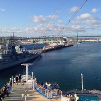 Photo taken at Sapphire Princess by Timothy T. on 4/1/2014
