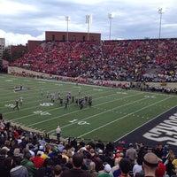 Photo taken at Vanderbilt Stadium - Dudley Field by Matt Z. on 10/19/2013