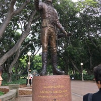 Photo taken at Governor Macquarie Statue by emiria on 10/26/2017