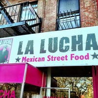 Photo taken at La Lucha - Tacos & Boutique by Brian W. on 4/6/2013