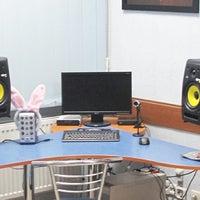 Photo taken at Студия звукозаписи Black Dot Records by Серега Т. on 10/18/2013
