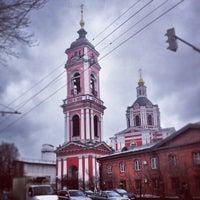 Photo taken at Храм Вознесения За Серпуховскими Воротами by BACbKA R. on 2/27/2013