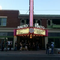 Photo taken at The Rialto Theatre by Joel L. on 5/24/2013