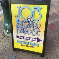 Photo taken at Joe's Record Paradise by Brian S. on 5/9/2017