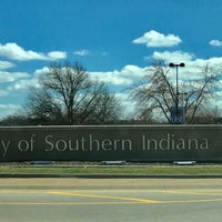 Photo taken at University of Southern Indiana by Bob S. on 2/25/2017