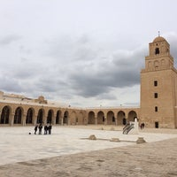 Photo taken at جامع عقبة بن نافع | La Grande Mosquée | Great Mosque of Kairouan by Hatem A. on 2/27/2014