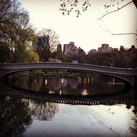 Photo taken at Bow Bridge by Nikhil on 4/22/2013