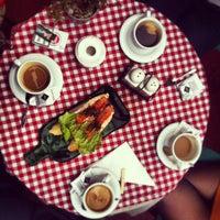 Снимок сделан в Кафе 1 / Cafe 1 пользователем Volodymyr K. 10/16/2013