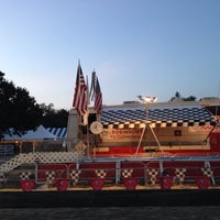 Photo taken at East Freehold Park & Showgrounds by Dylan on 7/26/2014